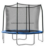 Jumping Trampoline 10 Feet with Blue Pad and Safety Enclosure for Child Playing