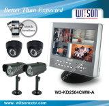 Witson CCTV System Kit /CCTV DIY Kit Support 3G Surveillance (W3-KD2504CWM)