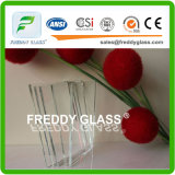 8mm Ultra/Super/Low Iron Float Glass with CE& ISO