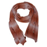 Fashion Acrylic Knitted Gradient Scarf (YKY4171)