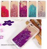 Mobile Phone Accessory 3D Liquid Sand Crystal TPU Quicksand Case for iPhone 5 5s Se Cell Phone Cover Case