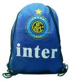 Customized Logo Branded Promotional Drawstring Backpack Bag