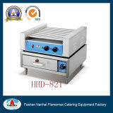 220V 11-Roller Electric Hot Dog Grill&Bun Warmer (HHD-821)