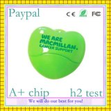 Hot Sell 8GB Heart Shape USB Memory (GC-U011)