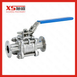 304 Stainless Steel Food Grade 3-Piece Clamp Ball Valves
