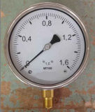 "4"" Crimped Ring Pressure Gauge"
