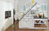 High Gloss White PVC Kitchen Cabinet (zs-471)