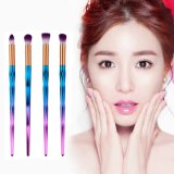 Popular New Arrival of 4PCS Colorful Makeup Brush Set