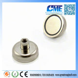 High Quality N42 D25X16mm Potn08 Neodymium Magnet