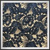 Guipure Lace with Foil Flower Foil Guipure Lace