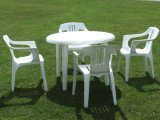 Plastic Table and Chair, Childer Series for Four Peoples
