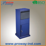 Outside Stand Parcel Box with Key Lock