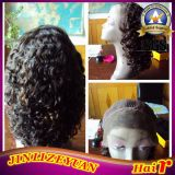 Kinky Curly Virgin Brazilian Human Hair Lace Front Wig