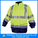 Wholesale Work Uniform Nylon Waterproof Windproof Rain Jacket