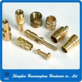 Precision Metal Brass Turning Parts by CNC Lathe machine