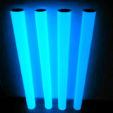 Blue Luminescent Glow in Dark Photoluminescent Film for Signs