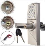 Zinc Alloy Electroinc Combination Lock Unlocked by Password or Mechanical Key