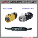 5 Pin Plug and Socket Push Pull Waterproof Connector