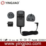 25W Linear Variable Power Adapter and Changeable AC Plug