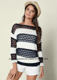 Women Hotsales Classic Cable Jersey Knitwear