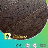 8.3mm HDF AC4 Embossed Oak Waxed Edge Laminate Flooring