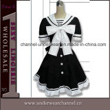 Wholesale Anime Fancy Dress Adult Carton Maid Cosplay Costume (TBLS143)