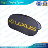 Customized Advertising Display Oval Pop up Banner (M-NF22F06015)