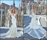 Mermaid Bridal Dresses Satin Edge Train Beaded Weding Dress Gv1602
