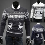 New Design Man′s Christmas Knitted Pullover Sweater