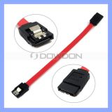 7 Pin Female to Female Flat Shielded Extension Data Cable 3.0 SATA Data Cable with Latch for CD-ROM PC SSD HDD Hard Disk