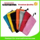 Custom Design Velvet Fabric Drawstring Gift Pouches