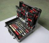 127 PC Aluminum Tool Set, Combination Tool Set with Aluminium Case