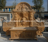 High Quality Popular Statue Marble Wall Fountain (SY-WF021)