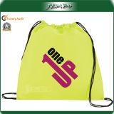 Custom Print Polypropylene Fabric Drawstring Bag for Promotion