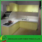 High Glossy Yellow Kitchen Cabinet Base Wall Cupboards Doors Kitchen Cabinet