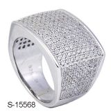 High Quality Fashion Jewellery Men Ring with Diamond