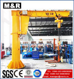 0.25t Bzd Fixed-Column Jib Crane with 360 Degree