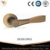 Line Feeling Polished Rondure Interior Wooden Door Handle (Z6326-ZR03)