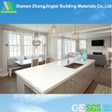 High Polished Quartz Stone Slab for Countertop, Floor Tile