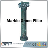 Green Marble Stone Pillar for House Decaration