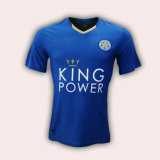 2016 Season Leicester City Blue Football Jersey Tshirts