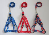 Pet Dogs and Cats Nylon Tow Rope Chain Collar with Harnesses