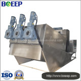Volute Sludge Dewatering Machine for Marine Sewage Treatment Plant