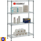 DIY Chrome Storage Wire Shelving for Grocery/Store, NSF Approval