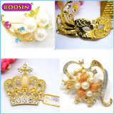 Hot Sell Hight Quality Jewellry Gold Brooch Punk Diamante Brooch Wholesale