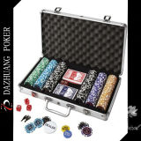 Poker Chip Set with 300 Chips and 2 Decks of Poker