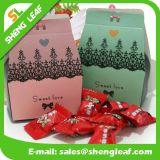 Featured Custom Lovely Shape Paper Candy Hard Box (SLF-PB042)