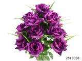 Artificial/Plastic/Silk Flower Rose Bush (2818028)