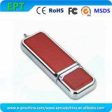Customized Logo Leather USB Memory Stick USB Flash Drive (ES160)