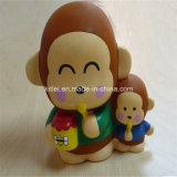 Gift Eco-Friendly Lovely Inflatable Vinyl Plastic Monkey Christmas Cartoon Toys